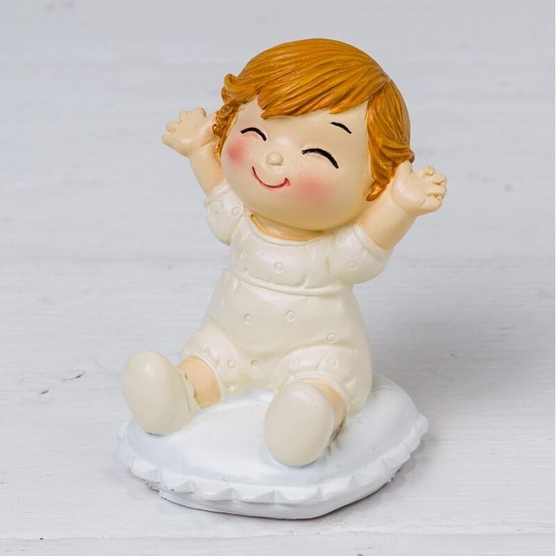 Figura Bebé Pop &fun Sentado En Cojín  Figuras Tarta Bautizo