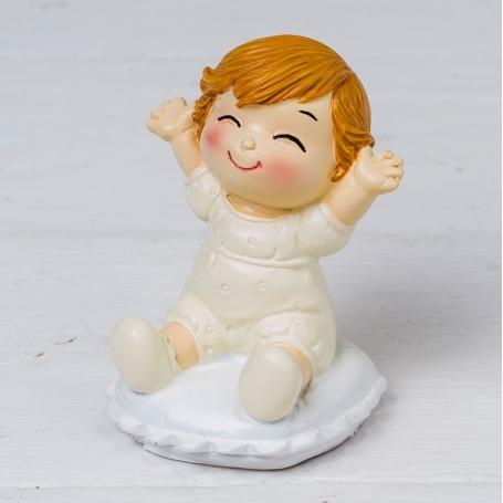 Figura Bebé Pop &fun Sentado En Cojín Figuras tarta Detalles