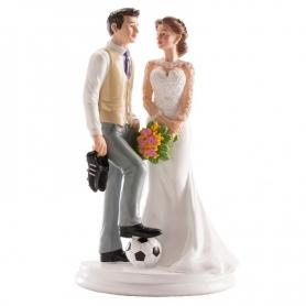 Figura Pareja de Novios Futbol 16.98 €