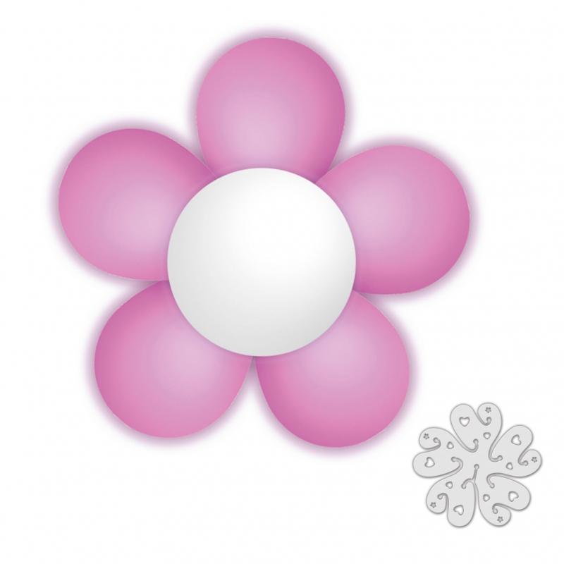 Pack de Flor de Globos Rosa