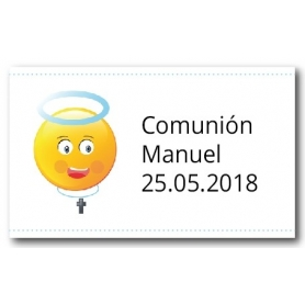 Adhesivos Personalizados para Comunión Niño  Pegatinas