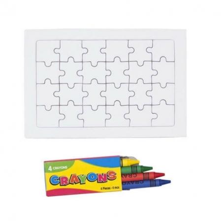 Puzzle para Colorear Ideas Originales Detalles de Boda