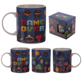 Taza Game Over