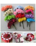 Flores de papel baratas