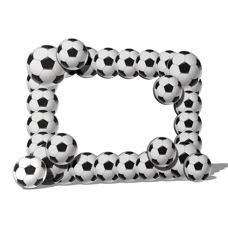 Marco photocall futbol
